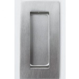 Square Flush Pull - 102x51mm