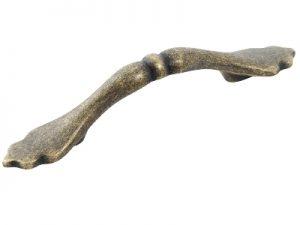 Antique bow handle antique brass