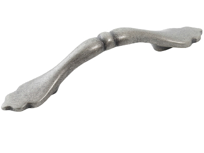 Antique bow handle pewter