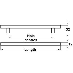 bar-handle-dimensions