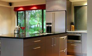 Bar Kitchen Door Handles Satin Chrome