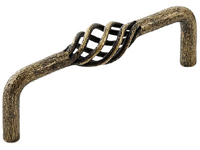 Manchester D handle antique brass