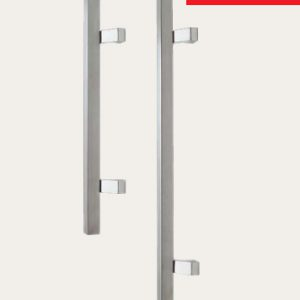 Square Profile Pull Handles (Offset Leg)