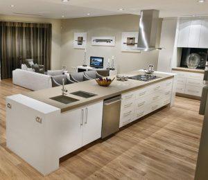 Brisbane Kitchen Cupboard Handles Satin Chrome