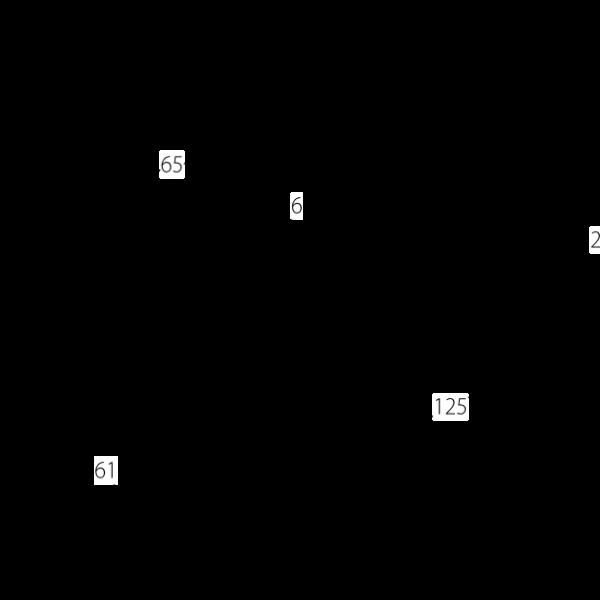 Malaga Door Handle Diagram