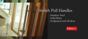 Stylish pull handles