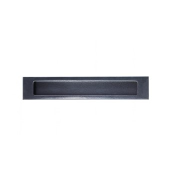 Long Flush Pull Handles Matt Black