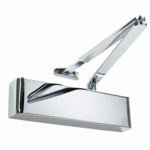 Polished Chrome Overhead Door Closer
